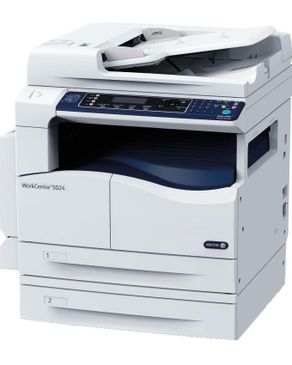 Xerox WorkCentre 5024 Multifunction A4/A3 Size (COPY-PRINT-SCAN)  Monochrome Laser  - White