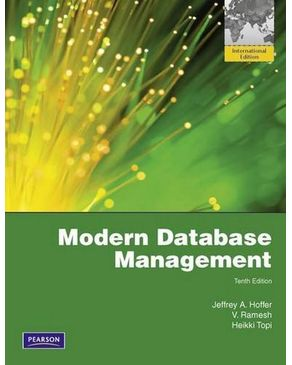 Modern Database Management: Global Edition
