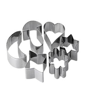 GUG Cookie Cutters 6 Pcs logo