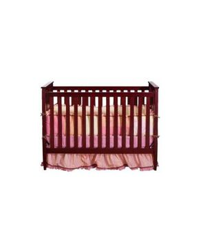 Bright Starts Paris 4 in 1 Convertible Crib - Cherry 0 - 4
