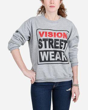 E-Nash Vision Street Wear Sweatshirt - Heather Grey logo