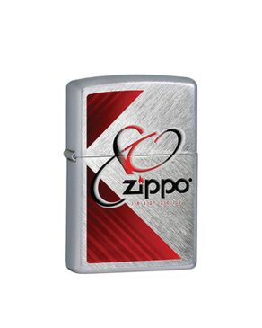 Zippo ZP28192 80th Anniversary Herringbone Sweep Lighter logo