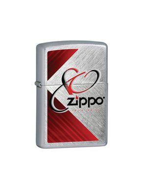 Zippo ZP28192 80th Anniversary Herringbone Sweep Lighter logo