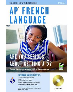 AP French Language Exam with Audio CD (REA)