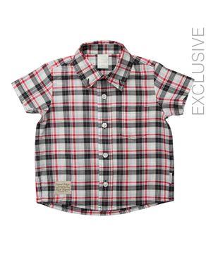 Stummer Multicolor Checkered Shirt logo