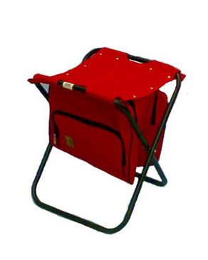 Vota Grill 4003 Camping Chair with Bag - Red