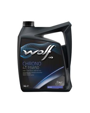 Wolf Chrono 4T 15W50 - 4 Liters logo
