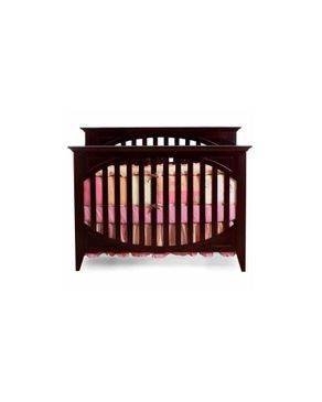 Bright Starts Isabella 4-in-1 Crib - Cherry