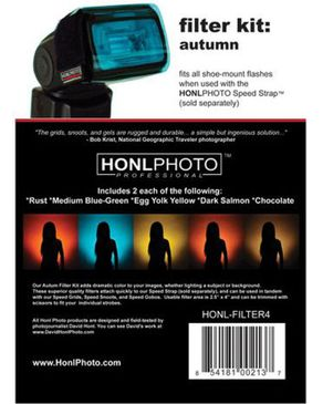 HONL Autumn Gel Filter Kit logo