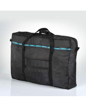 Travel Blue Folding Tote Bag