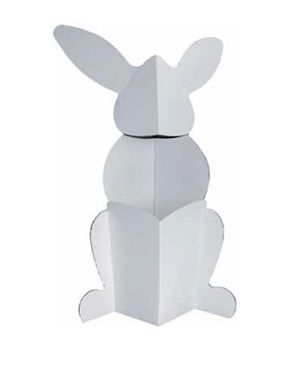 Villa Carton JP000.409 XL Rabbit-white logo