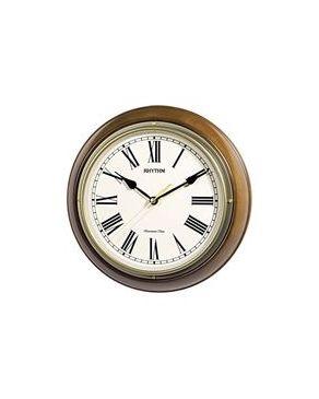 Rythm CMH723CR06 Wall Clock - Brown