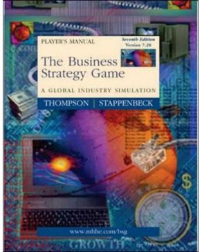 Business Strategy Game Player`s Package V7.20 (Manual, Download Code Sticker & CD)