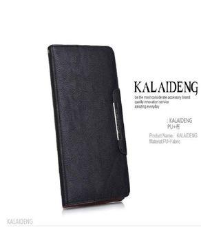 Fashion PU Fabric wallet Stand case for new iPad Mini Black