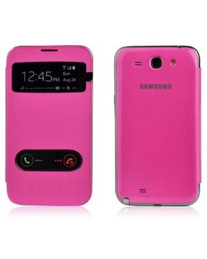 Accesory Agents S-view Flip Cover For Samsung Galaxy Grand I9082 (pink) logo
