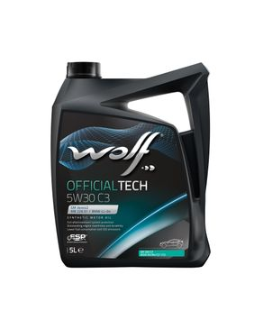 Wolf OfficialTech 5W30 C3 - 5 Liters logo