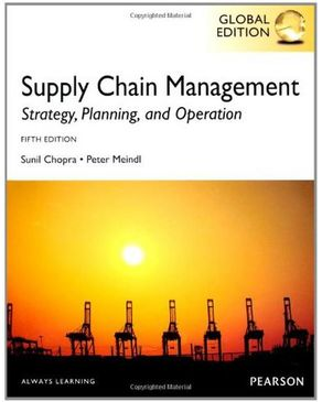 Supply Chain Management: Global Edition