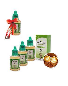 Hangsen Cappuccino by Hangsen - 50ml - 3mg (Buy 3 Get 1 Free) logo