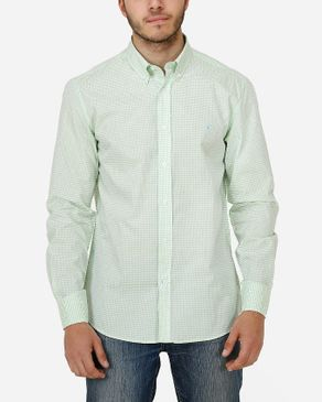 Concrete Regular Fit Shirt-Light Green logo
