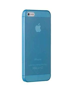 Ozaki OC533BU Ultra Slim & Light Weight Case for iPhone 5 - Jelly Blue