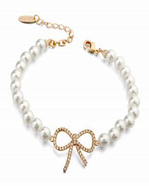 Dinardo Dinardo Gold Plated with Swarovski elements Bracelet logo