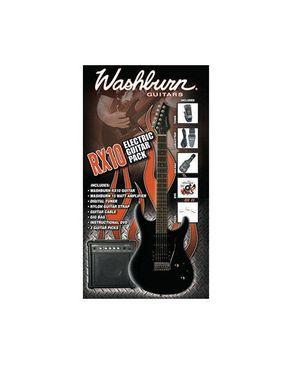 Washburn RX10B Electric Guitar Pack