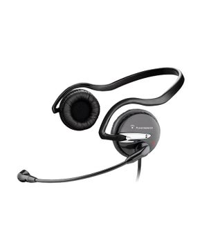 Plantronics Audio 345 Stereo PC Headset - 3.5mm Connection - Black