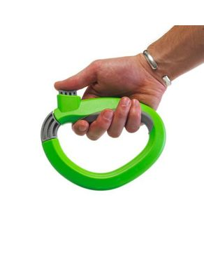 As Seen on TV GT00316 One Trip Grips Shopping Grocery Bag Holder Handle Carrier Lock Kitchen Tool – Green logo