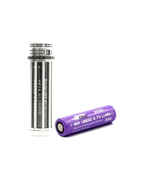 Innokin iTaste 134 MX-M Mechanical Mod - Black + Efest 18650 Battery logo