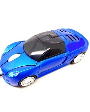 Generic Blue Car USB 2.0 - 3D Mini Mouse