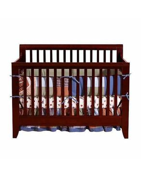 Bright Starts Eleanor 4 in 1 Convertible Crib - Cherry