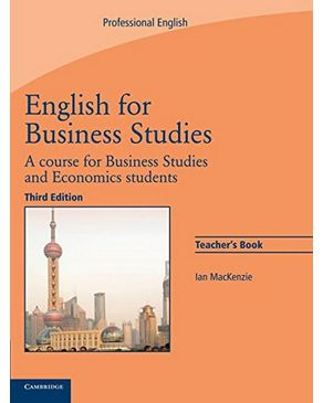 English for Business Studies Teacher`s Book: A Course for Business Studies and Economics Students