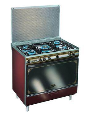 Kiriazi 8900 Gas Cooker - 5 Burners