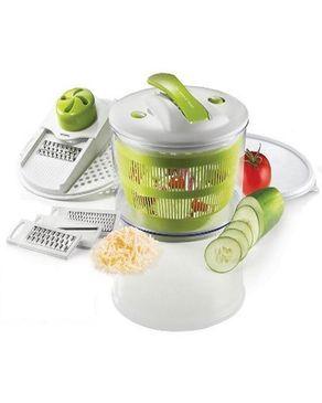 GUG The Sharper  4-In-1 Salad Spinner Mandoline Slicer logo