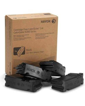 Xerox Genuine Cq 9302/3 Ink, Black , DMO, 4 Sticks