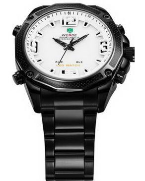 Weide 2035 Japan Miyota Watch - Black logo