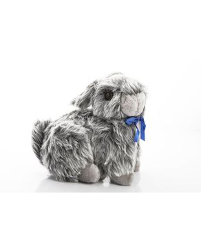 Mani Stuffed Rabbit - Grey