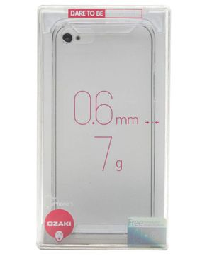 Ozaki OC541 Ultra Slim & Light Crystal Case for iPhone 5 - Transparent