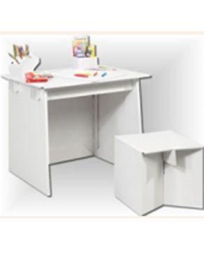 Villa Carton JP000.303 Drawing and play table-white