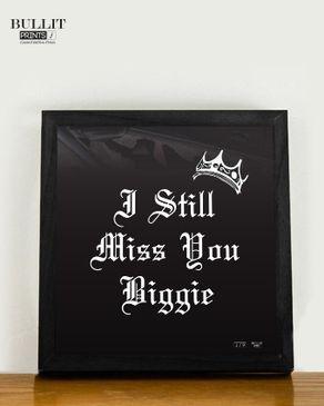 Bullit Prints Beggie Poster - Black Frame