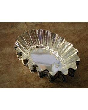 GUG Oval Tart Moulds 6 Pcs logo