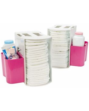 Prince Lionheart 2 in 1 Diaper Depot - Pink