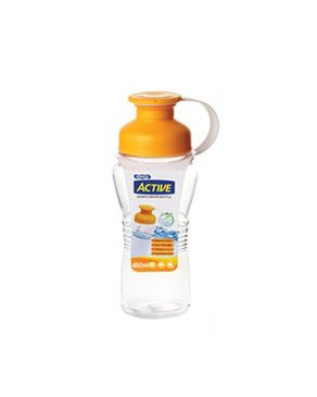 Komax Active Water Bottle - Yellow - 550 ml