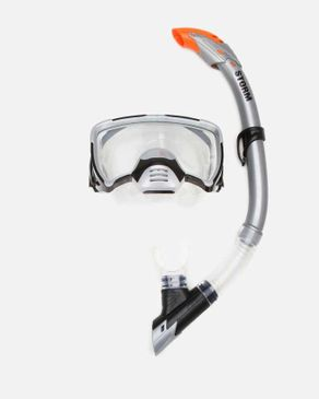 Arabiya Marine Storm Diving Mask Set - Silver