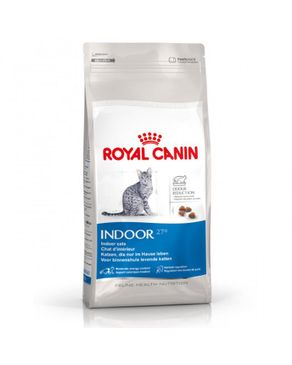Royal Canin Indoor Dry Food For Adult Cats From 1-7 Years - 2 kg