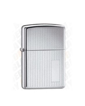 Zippo ZP-350 Classic Polished Chrome Lighter logo