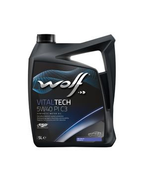 Wolf VitalTech 5W40 PI C3 - 5 Liters logo