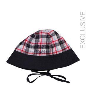 Stummer Multicolor Cotton Checkered Hat logo