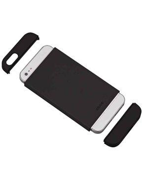 Ozaki OC549BK/BK/BK Trio slide case for iPhone 5 - Black