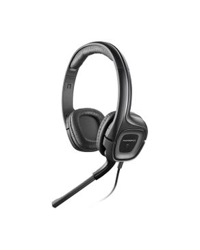 Plantronics Audio 355 Stereo PC Headset - 3.5mm Connection - Black
